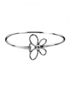 Tianguis Jackson Sterling Silver Open Butterfly Bangle BT1719