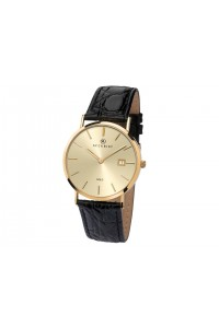 Accurist Gents 9ct Gold Watch 7802