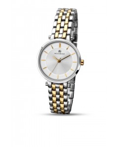 Accurist Ladies Classic Two-Tone Watch 8007
