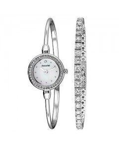 Accurist Ladies Watch & Bracelet Set LB1573