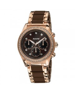 Accurist Ladies Chronograph Watch LB211BR