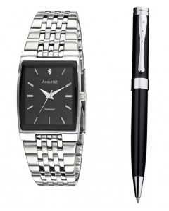 Accurist Gents Watch and Pen Set MB1121