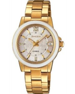 Casio Ladies Sheen Watch SHE-4512G-7AUER