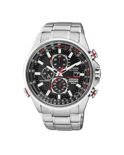 Citizen Gents Eco-Drive Red Arrows World Chronograph A.T Watch AT8060-50E