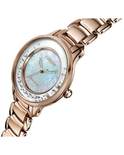 Citizen Ladies Circle Of Time Eco-Drive Watch EM0382-86D