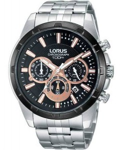Lorus Gents Chronograph Watch RT359BX9