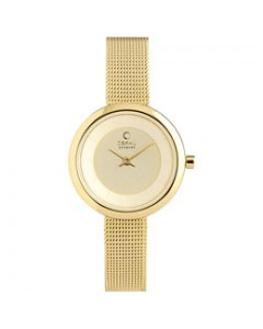 Obaku Ladies Stille Gold Watch V146LXGGMG