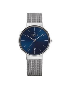 Obaku Gents Klar Cyan Watch V153GDCLMC