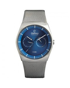 Obaku Gents Jord Cyan Watch V176GMCLMC