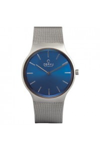 Obaku Gents Rolig Cyan Watch V178GXCLMC