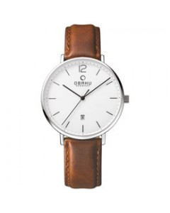 Obaku Gents Toft Mocha Watch V181GDCWRN