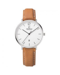 Obaku Gents Toft Cognac Watch V181GDCWRZ