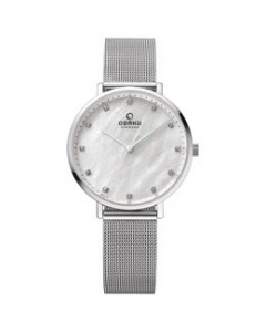 Obaku Ladies Vest Steel Watch V186LXCWMC