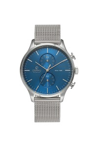 Obaku Gents Gran Cyan Watch V196GUCLMC
