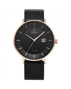 Obaku Gents Nordlys Night Solar Watch V222GRVBMB