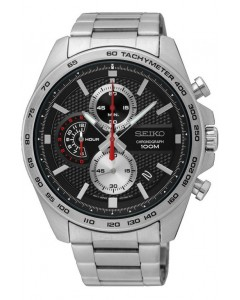 Seiko Gents Chronograph Watch SSB255P1