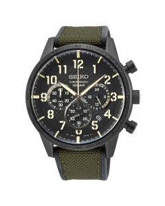 Seiko Gents Chronograph Watch SSB369P1